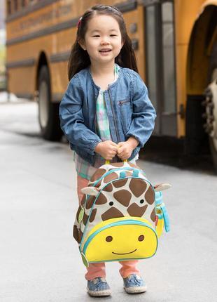 Рюкзак skip hop zoo little kid жираф. оригинал, сша