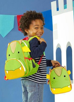 Рюкзак skip hop zoo little kid дракон. оригинал, сша