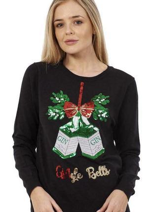 Мягусенький ангоровый праздничный свитер paramour