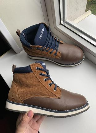 Шкіряні черевики nautica ботинки сша
