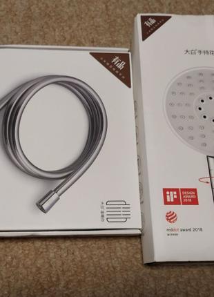 Насадка-лейка и шланг для душа Xiaomi DiiiB Big white DXHS001,...