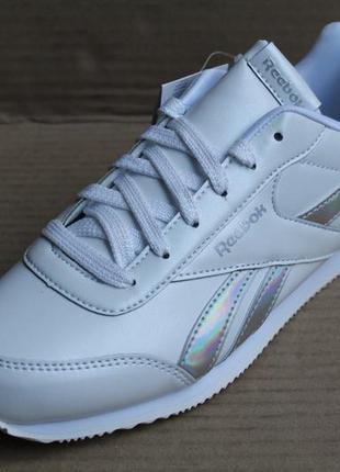 Кроссовки reebok royal cljog 2 dv9019 white/iridescent оригінал