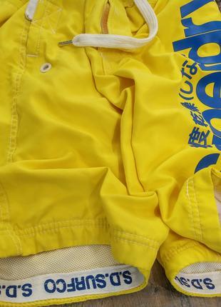 Мужские шорты-плавки Superdry Board Swim Shorts ОРИГИНАЛ, size L