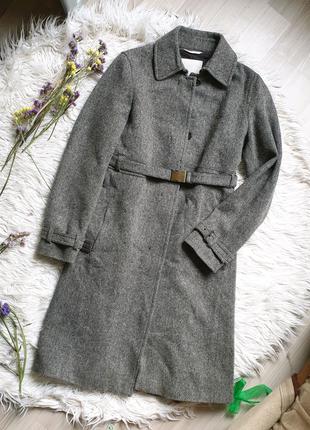 Пальто max mara оригинал шерстяное