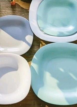 Набор посуды для сервировки стола тарелки блюдо сервиз салатник