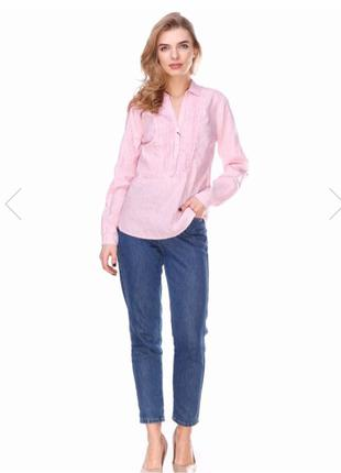 Рубашка/блуза с длинным рукавом Massimo Dutti