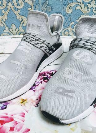 Летние кроссовки аналог Adidas Human Race
