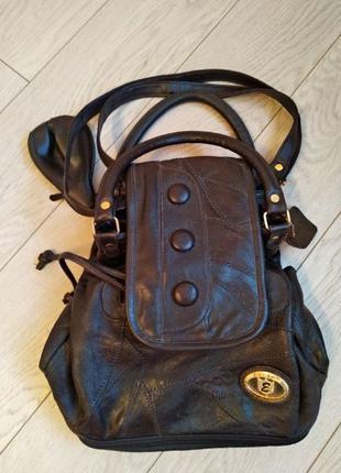 Кожаный женский рюкзак. сумка кожаная