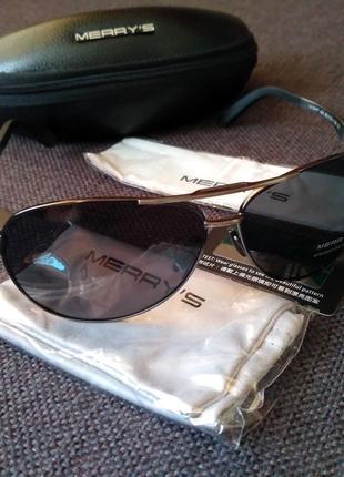 Мужские поляризационные,солнцезащитные очки Merry