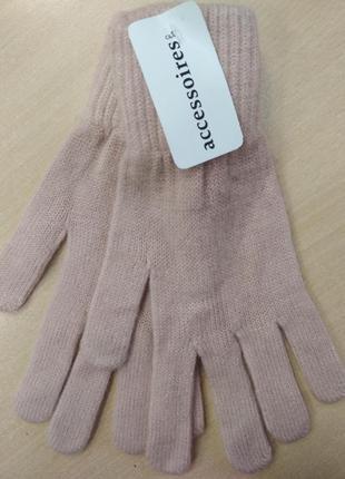 Перчатки, женские, теплые, c&a