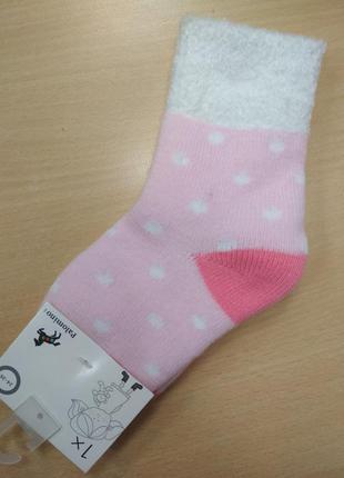 Носки, на девочку, тёплые, мягкие, плюшевые, размер 24, 26, 30...
