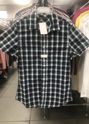 Рубашка, тенниска, мужская, с короткими рукавами, летняя, легкая