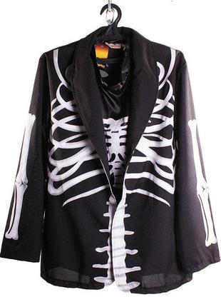 Костюм,  мужской,  скелет,  halloween, размер m