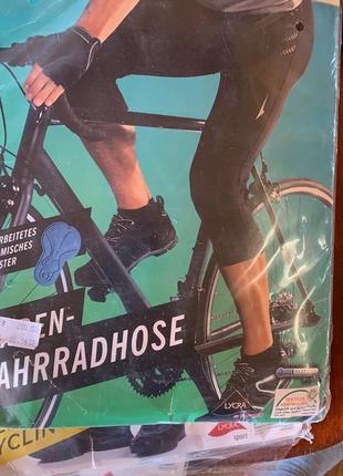 Вело бриджи мужские, xl