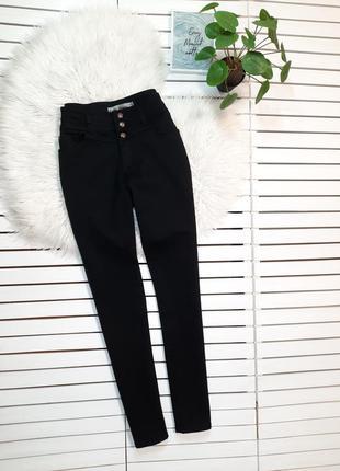 Черные джинсы скинни высокая посадка new look p. l-xl