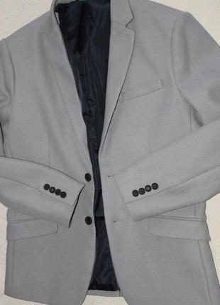 Selected новый мужской пиджак р. м massimo dutti
