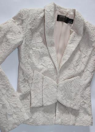 H&m вечерний пиджак жакет р. s