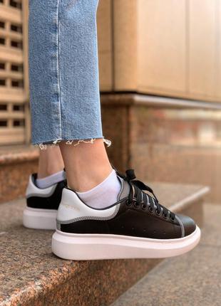 Mcqueen black reflective женские ботинки наложенный платёж купить