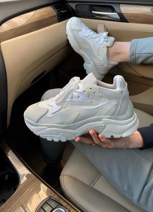 Ash grey серые женские ботинки наложенный платёж купить