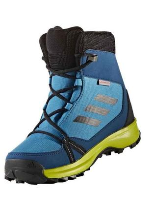 Ботинки adidas terrex snow cp cw k (s80887) оригінал primaloft...