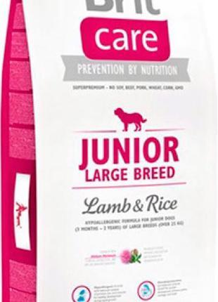 Brit Care Junior Large Breed Lamb and Rice