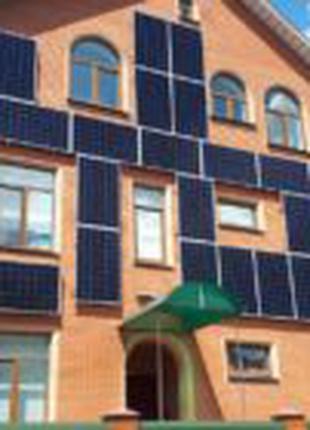 Установка солнечных электростанций
