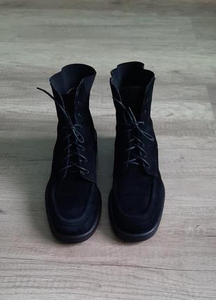 Ботинки от lloyd women натуральный замш размер 38