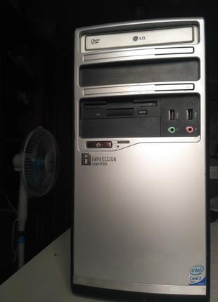 Компьютер 2.83GHz x4 / 4GB RAM / GTS 450 1 GB GDDR5 / HDD 320GB +
