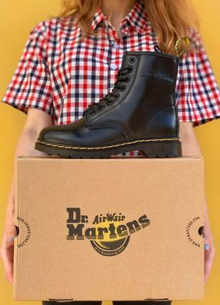 Ботинки dr. martens 1460 black черевики