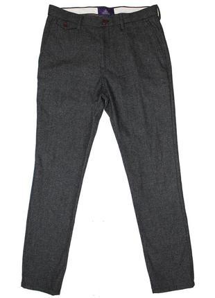 Новые мужские брюки next шерсть