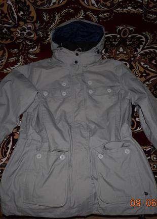 Куртка-плащ демисезонная human nature