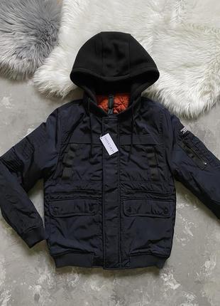 Мужская куртка lc waikiki весна-осень бомбер новый курточка дутая
