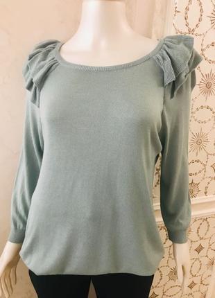 Красивый свитер/ кофта мятного цвета george