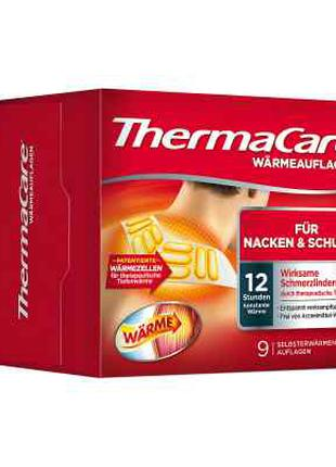 ThermaCare пластири протибольові на шию та плечі