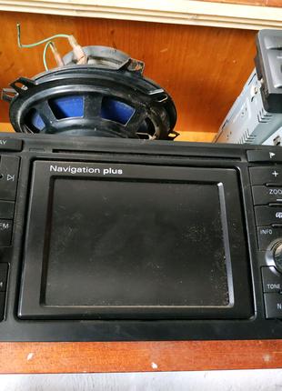 Audi vw navigation plus магнитола 2 din