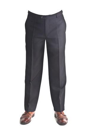 Черные брюки ,шерсть,супер батал от немецкого бренда hinrichs