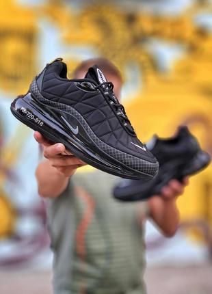 Nike air max 720 до -5 black чёрные женские ботинки наложенный...