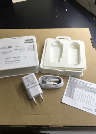Зарядка Samsung оригинал USB кабель провод блок шнур micro