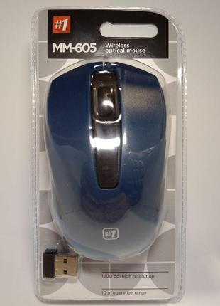 Комп Мишка Defender MM 605  Blue