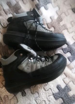 Термо ботинки кожа 40 р