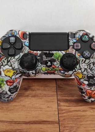 Чехол Накладки Наклейка Для DualShock 4 PS4
