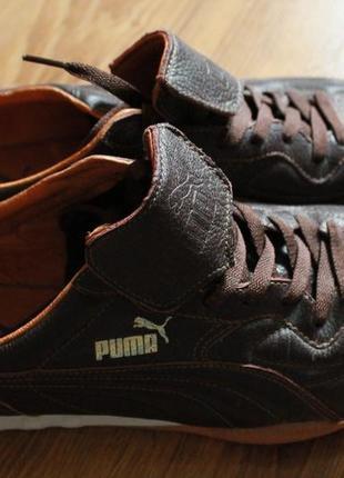 Кроссовки мужские кожаные puma