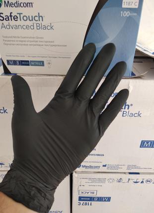 Medicim черная перчатка L M