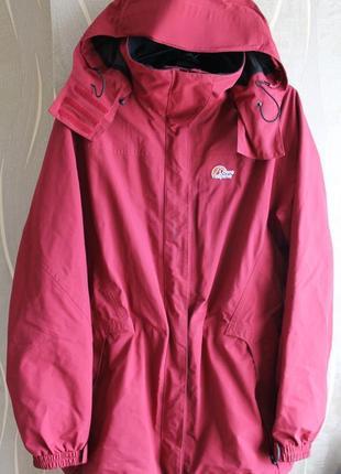 Яркая стильная тонкая женская куртка lowe alpine