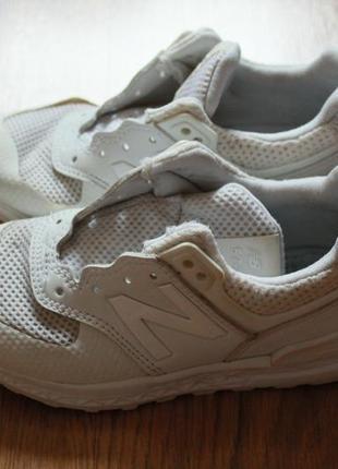 Трендовые стильные детские кроссовки new balance