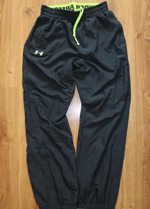 Суперовые мужские черные спортивные штаны under armour