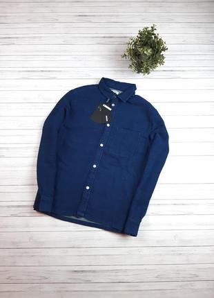 Рубашка мужская джинсовая mtwtfss weekday
