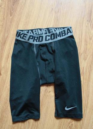 Мужские черные шорты nike pro combat core 2