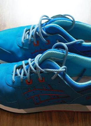 Непревзойденные мужские синие кроссовки asics gel lyte iii
