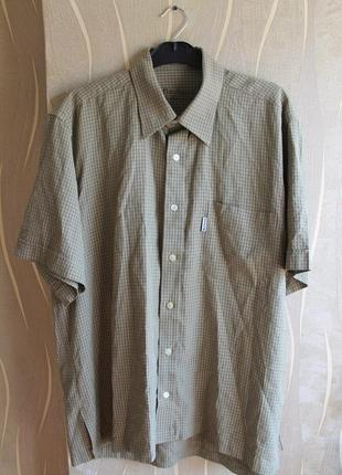 Обоятельная легкая летняя мужская рубашка в клетку barbour